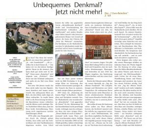 """Unbequemes Denkmal? Jetzt nicht mehr! Das """"1 Euro-Ruinchen"""" 2. Teil"""