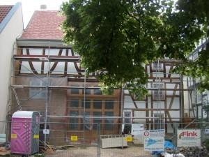 Fassade am 8. Juni 2013