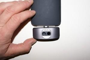 Flir One mit Moto X