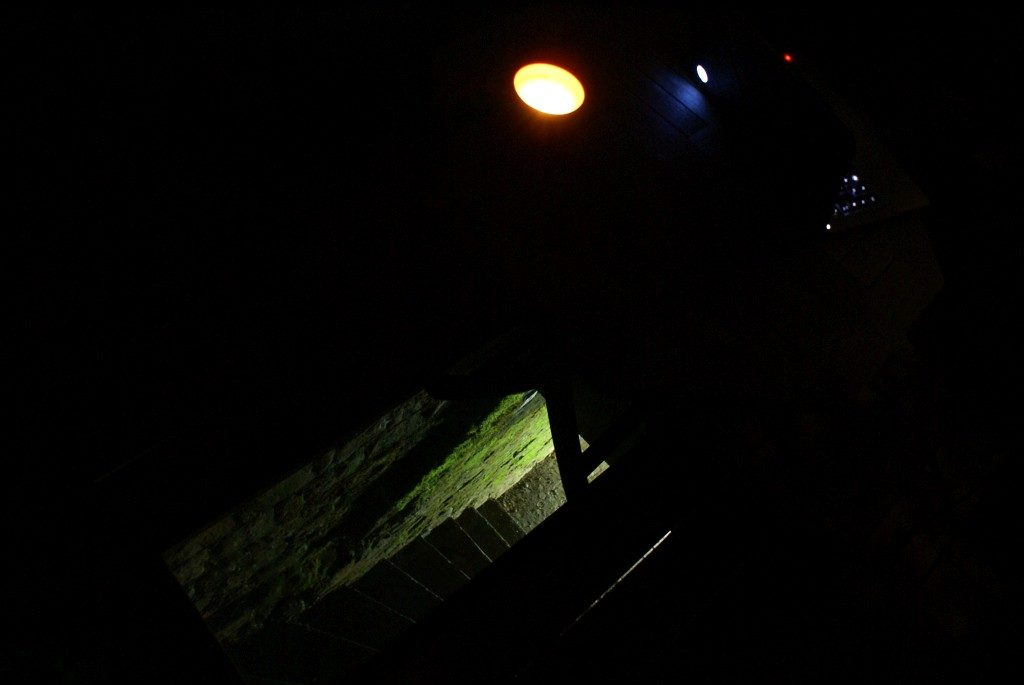 Gewölbekellerabgangsillumination
