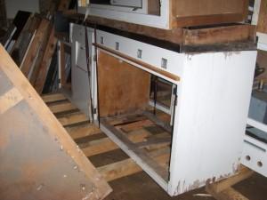 Kücheneinlagerung