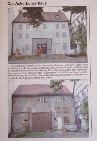 Butzbacher Zeitung 28. August 2010