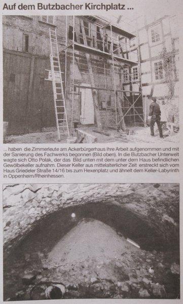 Butzbacher Zeitung 24. Dezember 2010