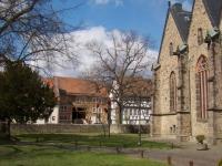Kirchenplatzblick Ostern 2012