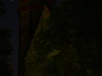 Markuskirche bei Nacht